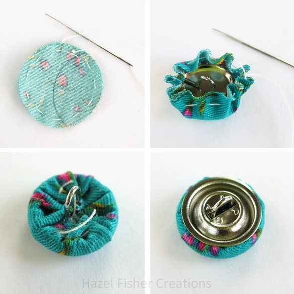 Fabric covered buttons | quilt patterns & blocks | angie's bits 'n.